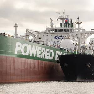 Milestone LNG Bunkering for Shell and Sovcomflot in Rotterdam