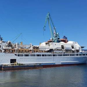 Sea Cloud's New Tall Ship is Taking Shape