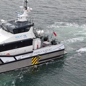 Seacat Services Sends Two Workboats to Beatrice For Siemens Gamesa