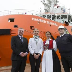 Sentinel Marine's New Rescue Vessel Christened