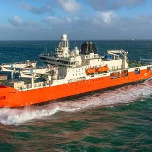 Australia's New Icebreaker Begins Journey Home
