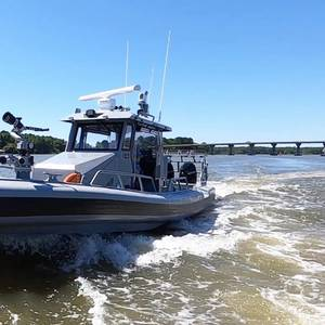 Silver Ships Delivers RHIB for Eglin Air Force Base