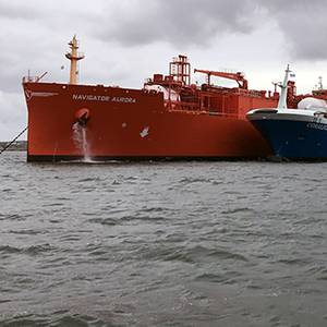 Skangas Delivers Milestone Fuel Change