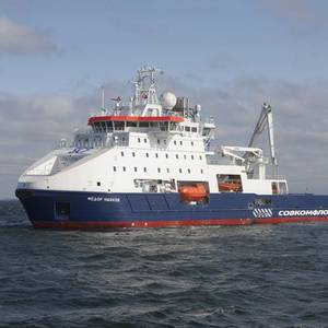 SCF's New Icebreaker Named Fedor Ushakov