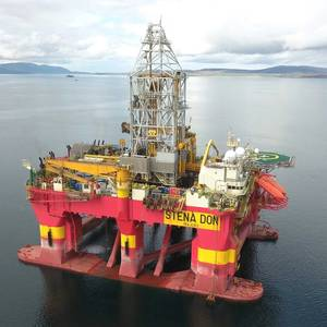 Total Pact with Stena Drilling for Laggan Well