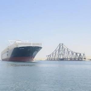 Ever Given Returns to the Suez Canal