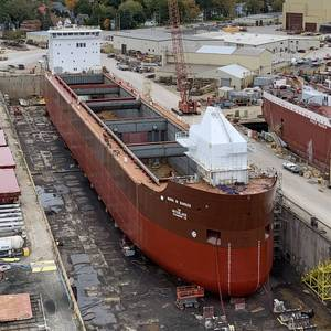 New US-flagged Laker is First to Be Launched in Nearly 40 Years