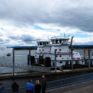 Tidewater Christens 2 New Towboats