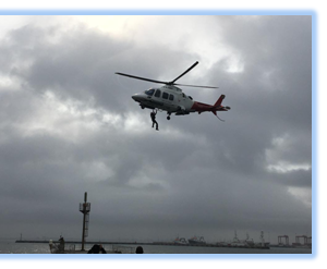 Cape Town to Employ Helo Pilotage Transfers