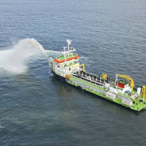 Maintenance Dredging at Port of Cape Town