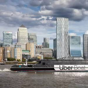 Uber Boat Launches in London