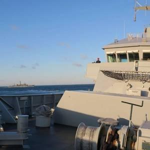 British Warship Stalks Russian Vessel Near UK Waters