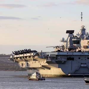 Battleship Diplomacy: Britain's New Aircraft Carrier Joins NATO
