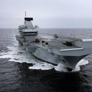 HMS Queen Elizabeth Set to Sail Home