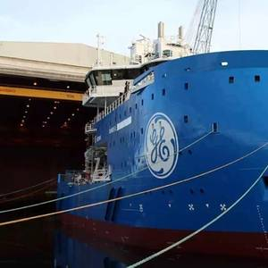 Ulstein Floats Out Offshore Wind Vessel