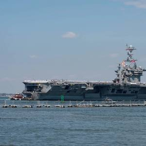 Harry S. Truman Carrier Strike Group Departs on Deployment