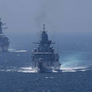 Truman  Enters Mediterranean Sea