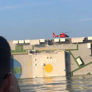 Rescue Planned for Missing Crew on Golden Ray