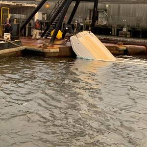 Boater Missing After Striking a Dredge on the Savannah River