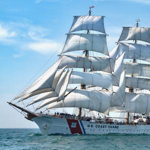 Coast Guard Cutter Eagle Gearing Up for Summer Training