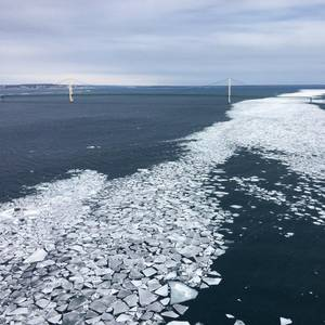 600 Gallons of Coolant Spills into Straits of Mackinac