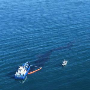 Anchor Strike May Have Caused California Oil Spill