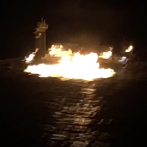 Gas Pipeline Fire Closes Intracoastal Waterway