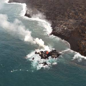 'Lava Bomb' Strikes Tourist Boat in Hawaii