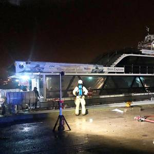 Hybrid Tour Boat Catches Fire in Norway