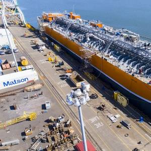 US Built Refrigerated Liquefied Gas Carrier Launched