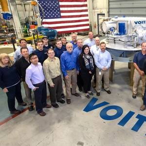 Voith Delivers First U.S.-Built VSP Units