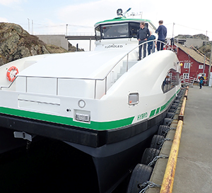 Volvo Penta Powers Hybrid Scandinavian Ferries