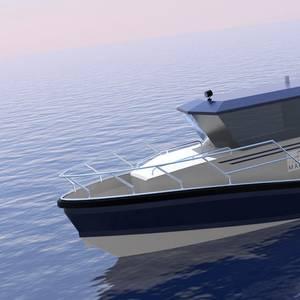 Wight, Chartwell Debut Hybrid Patrol Vessel