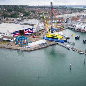 Second Ferry Export for Wight Shipyard