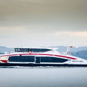 Wight Shipyard Delivers 6th Ferry in two years