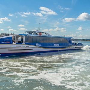 Wight Shipyard Delivers Ferries for London