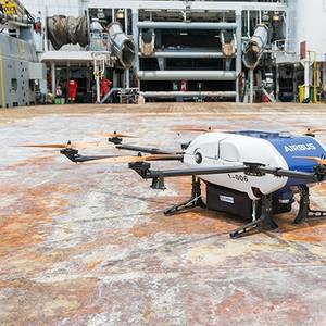 First Commercial Drone Ship Delivery