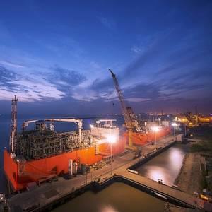 Shipbuilding First: Wison Delivers Barge-based FSRU