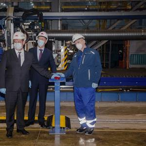 Zvezda Cuts Steel for First Russian-built Icebreaking LNG Carrier