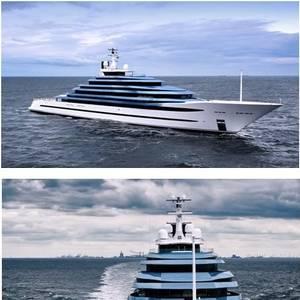 Oceanco Delivers 110-meter Jubilee