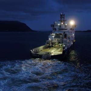 OSV Powers Up for Deepwater Efficiency the Island Offshore Way