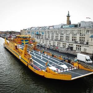 Sweden Gets Largest Hybrid Car Ferry