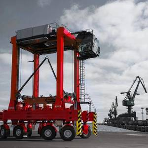 Italian Terminal Orders Kalmar Straddle Carriers