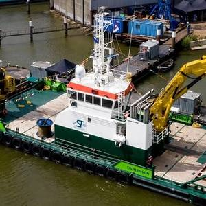 ST Marine Christens Multi Cat at Damen