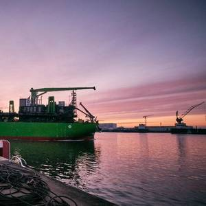 TSHD Meuse River Launched
