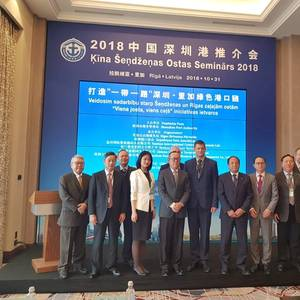 China Strengthens Maritime Cooperation with Lativa