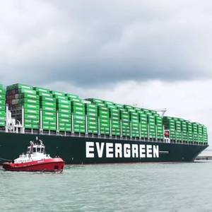 Green Box Vessel Arrives in Rotterdam