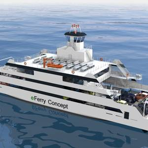 ICE Designs Electric Ferry