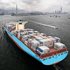 Maersk Container Ship Fire