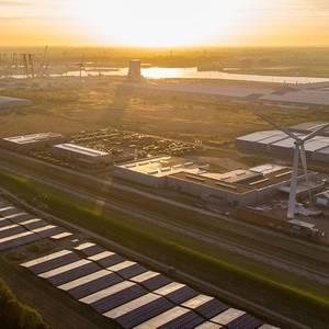 North Sea Port Opens Netherlands' Largest Solar Park